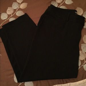 Cropped slacks